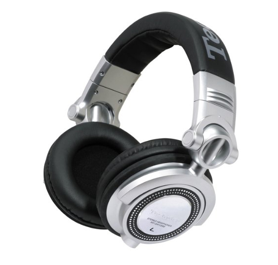 Technics RP-DH1250E-S - мониторные наушники (Black/Silver) от iCover