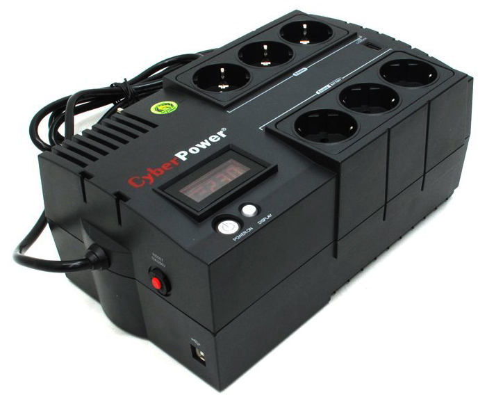 CyberPower BR650ELCD - источник бесперебойного питания (Black)  BR650ELCD