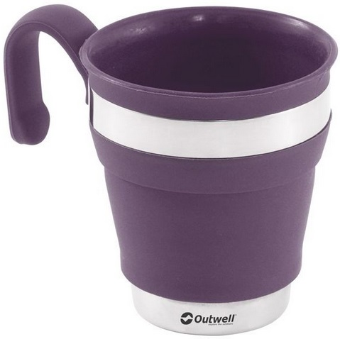 Outwell Collaps Mug Plum 650483