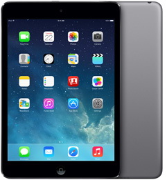 Планшет Apple iPad mini Retina 32GB Wi-Fi + LTE Space Gray (ME820RU/A)