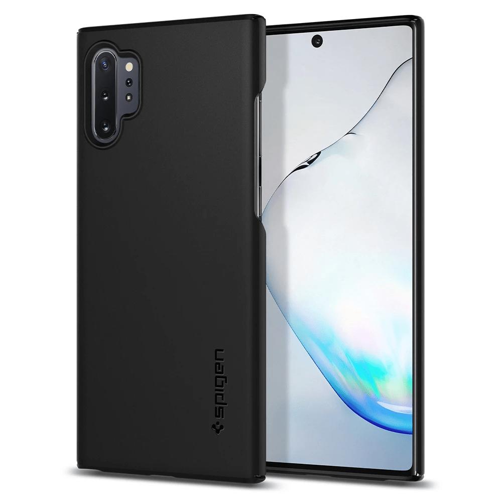 Чехол-накладка Spigen Thin Fit (627CS27325) для Samsung Galaxy Note 10 Plus (Black)