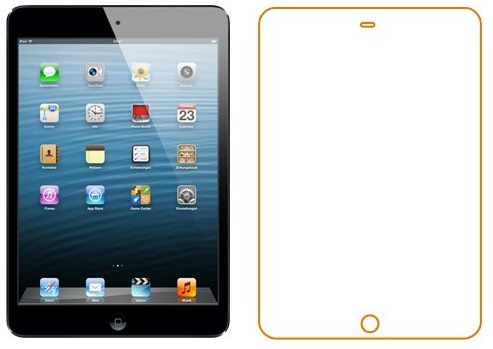 Ainy AC-A320 - защитная пленка для Apple iPad Air (глянцевая)Защитные пленки для планшетов Samsung<br>Защитная пленка<br>