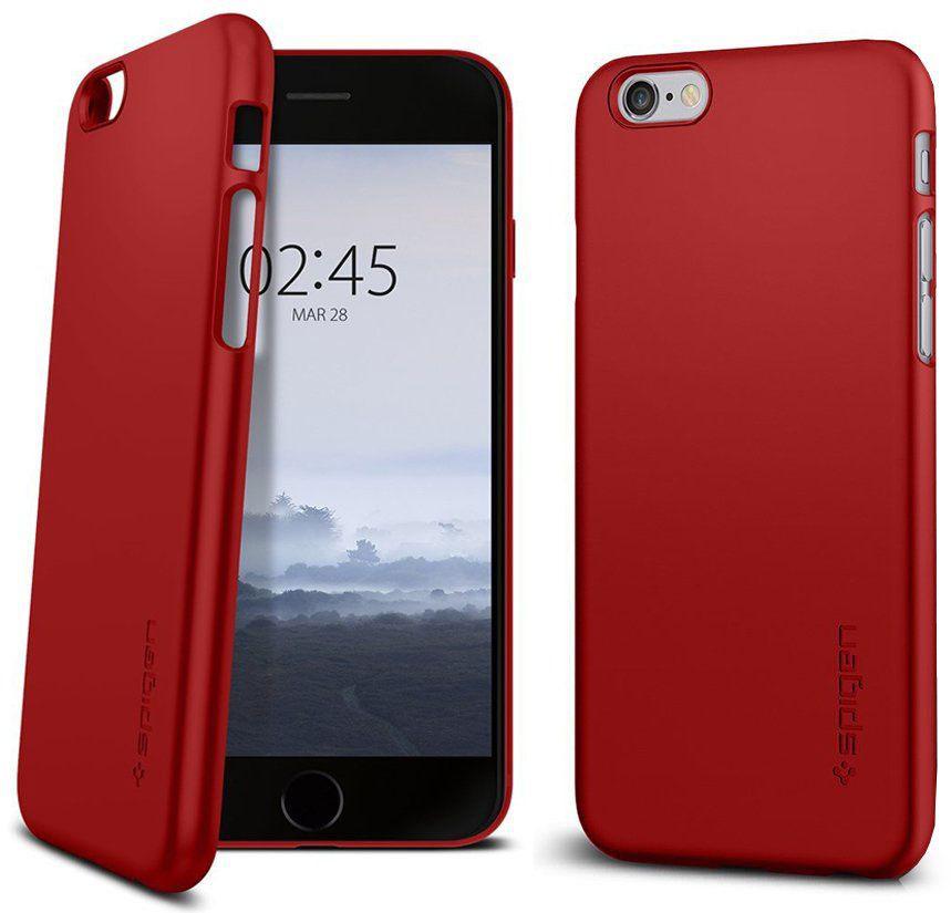 Чехол Spigen Thin Fit (035CS22380) для iPhone 6/6s (Red)