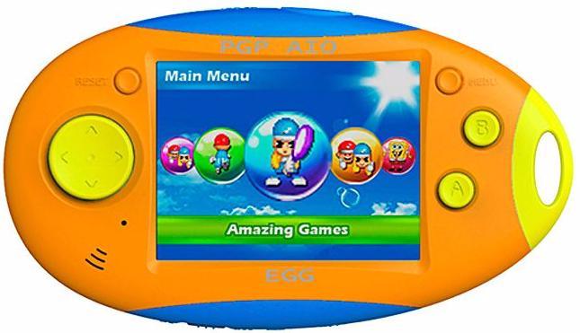 PGP AIO Egg 16 bit (MGS3501-D) - портативная игровая приставка (Orange/Blue/Yellow)