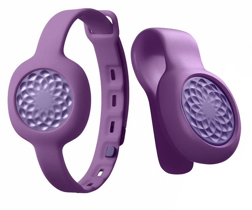 Jawbone UP Move (JL07-GPS-EM) RU - спортивный трекер-клипса + ремешок (Grape)