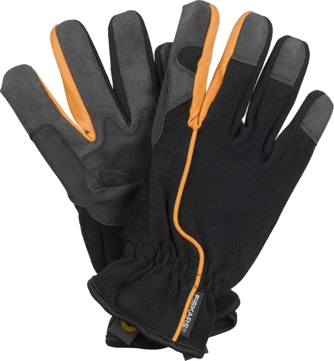 Fiskars 160004 10 - перчатки садовые L (Black)