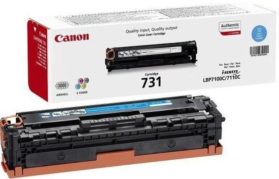 Canon 731C (6271B002) - картридж для принтеров Canon (Blue)
