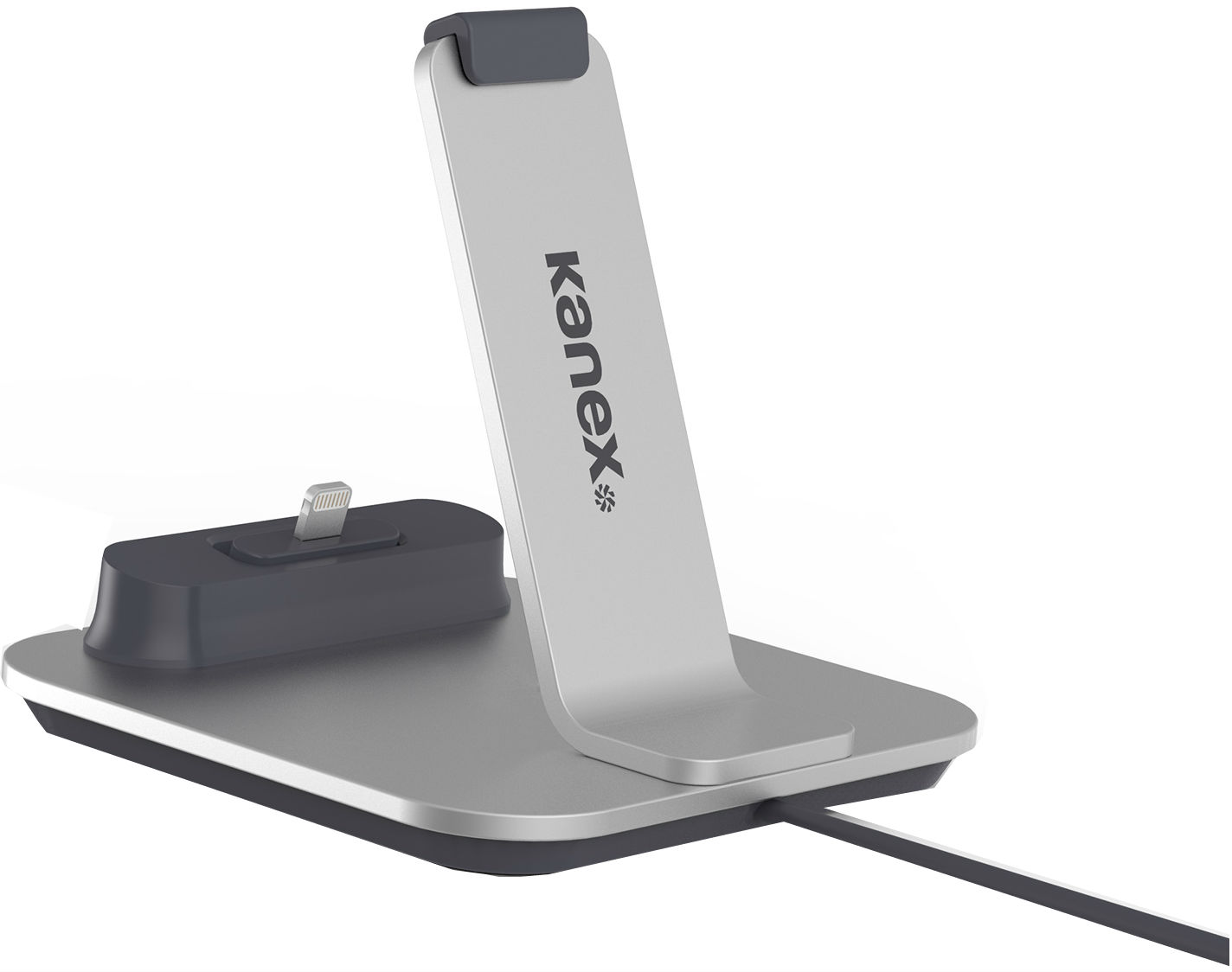 Kanex Dock (K8PDOCK) - док-станция для iPhone 6S/6S Plus (Silver)