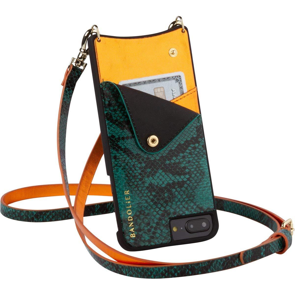 Чехол Bandolier Emma для iPhone 6/7/8 Plus (Green Snake/Orange)