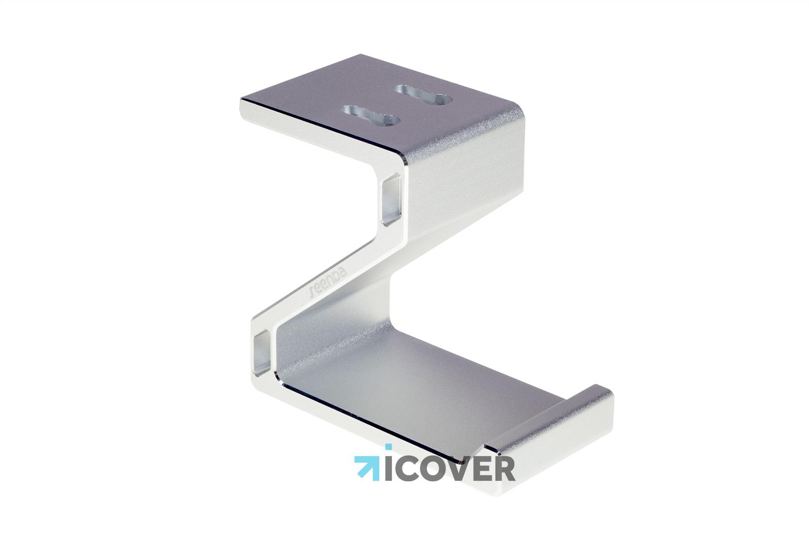 Seenda Alluminum Headhone Holder - держатель для наушников (Silver)