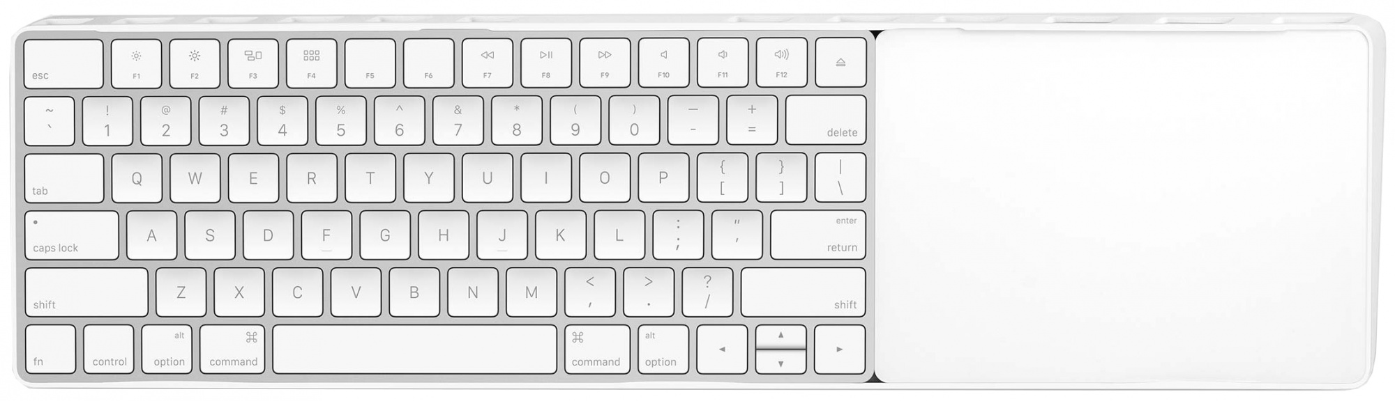 Twelve South MagicBridge - док-станция для Apple Wireless Keyboard и Magic Trackpad 2 (White)