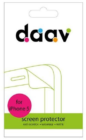 Daav Screen Protector (D-AI5-SP-M) - защитная пленка для iPhone 5/5S (Matte)