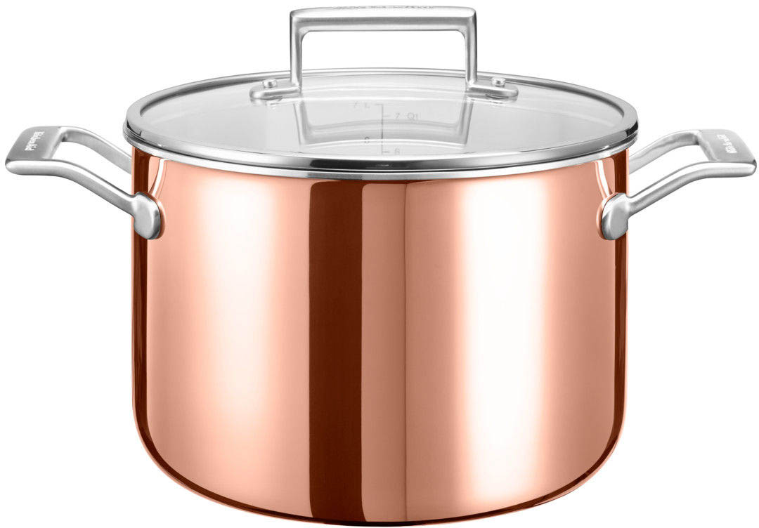 KitchenAid 3 Ply Copper KC2P80SCCP