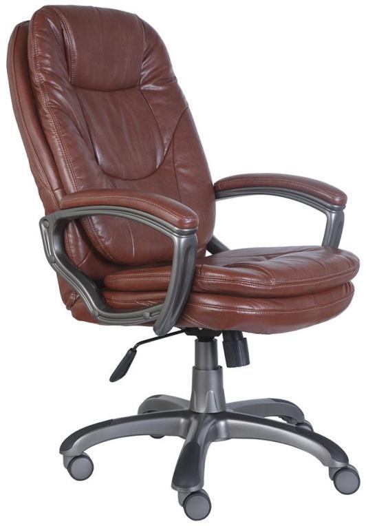 Бюрократ CH-868AXSN - кресло руководителя (Brown) от iCover