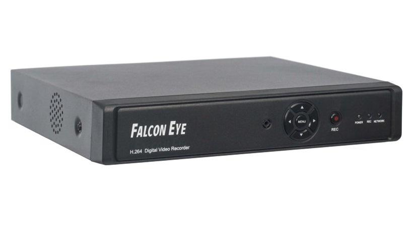 Falcon Eye (FE-0108H) - гибридный AHD-видеорегистраторКамеры видеонаблюдения<br>Гибридный видеорегистратор<br>