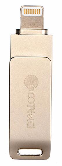 COTEetCI iUSB 64GB (CS5070-64G) - флеш-накопитель для iPhone/iPad (Gold)