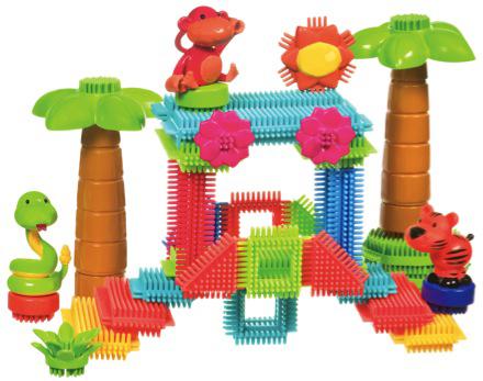 Bristle BlocksКонструкторы для детей младшего возраста<br>Игольчатый конструктор<br>