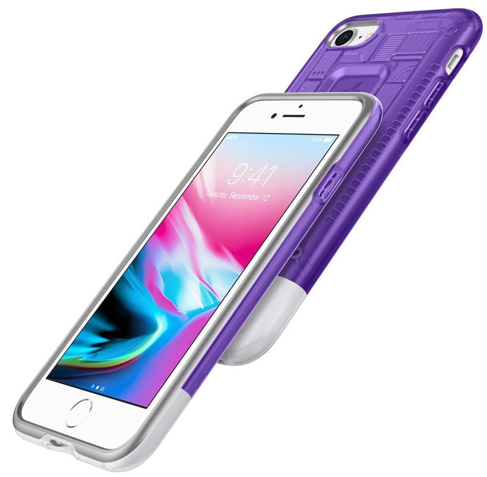 Чехол Spigen Classic C1 (054CS24425) для iPhone 8/7 (Grape)
