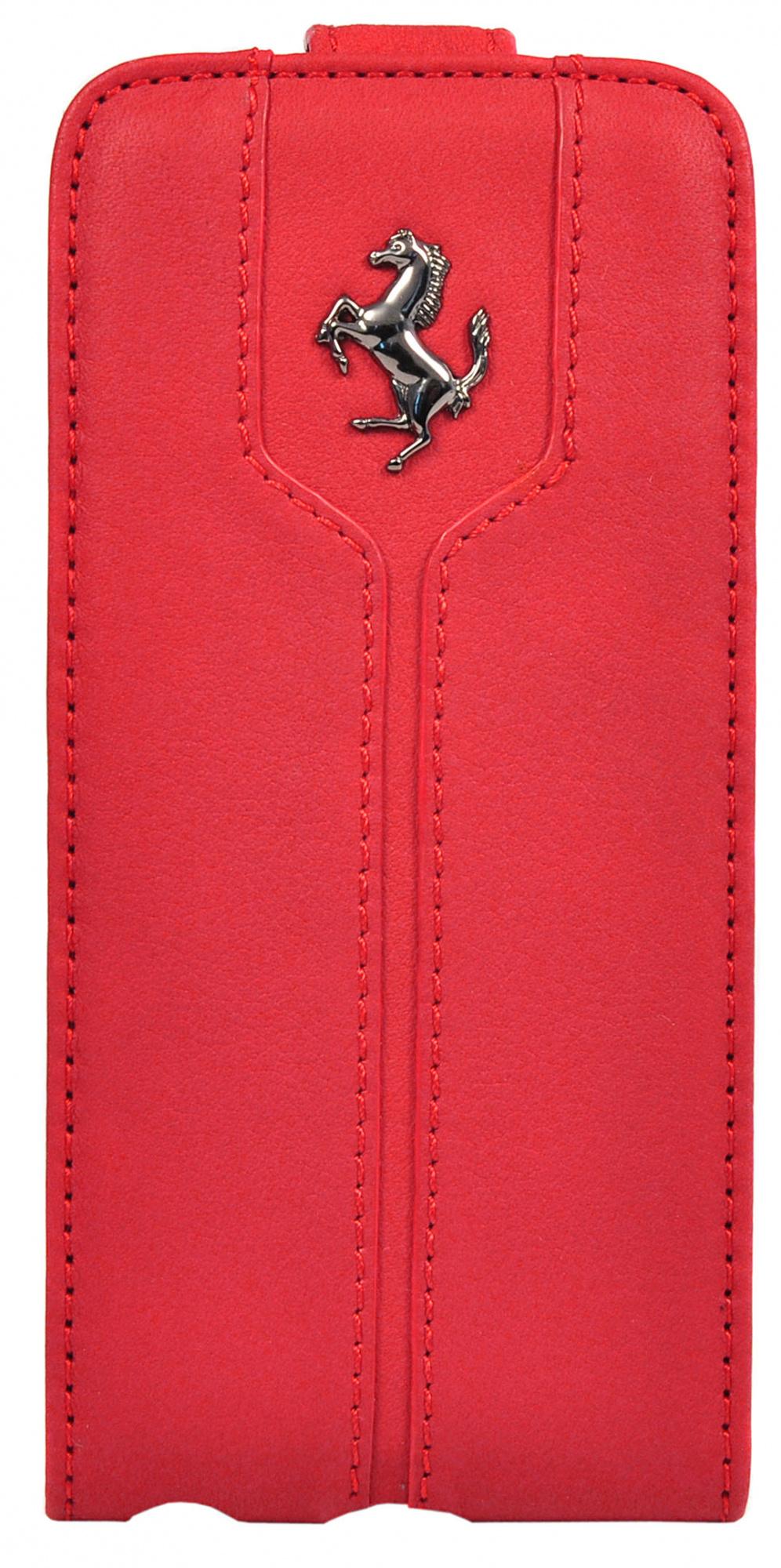Купить Ferrari Montecarlo Flip (FEMTFLP5RE) - чехол для iPhone 5/5S/SE (Red)