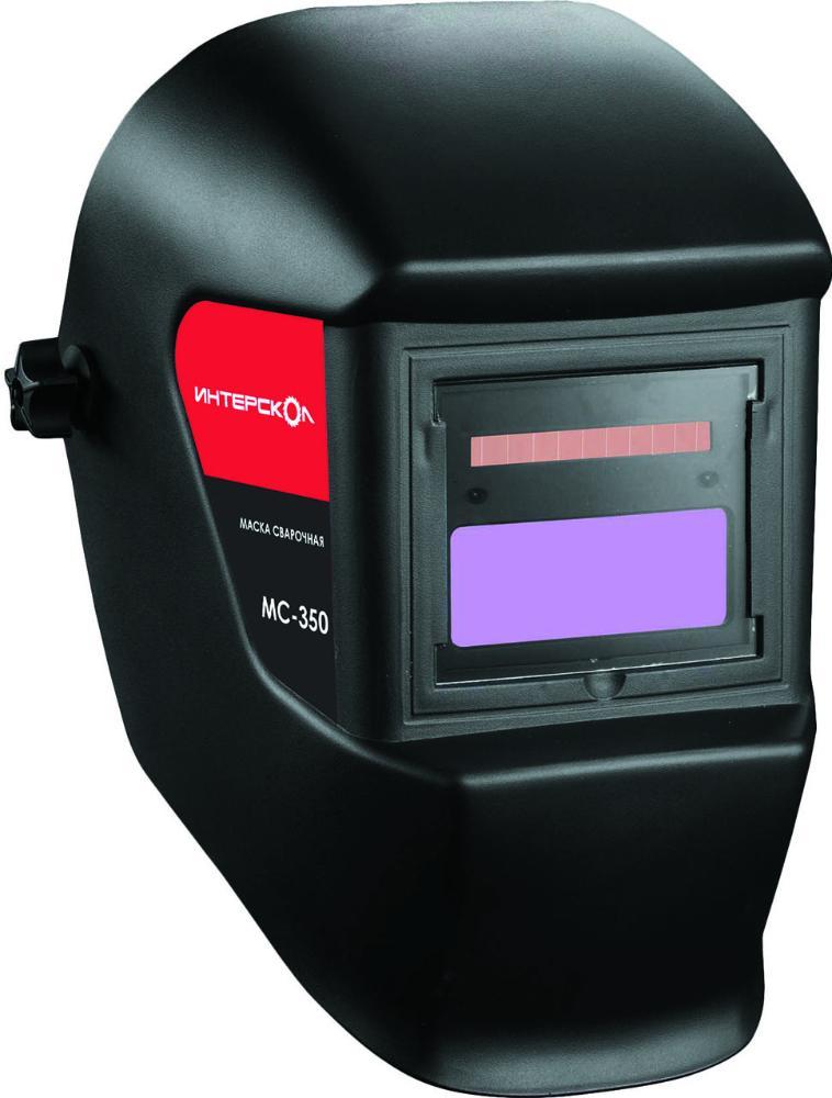 Интерскол МС-350 (274.1.0.40) - сварочная маска (Black) интерскол тпг 15