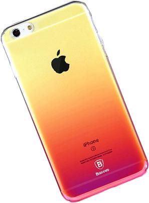 Baseus Polychrome Case (WIAPIPH7-LC04) - накладка для iPhone 7 (Pink)