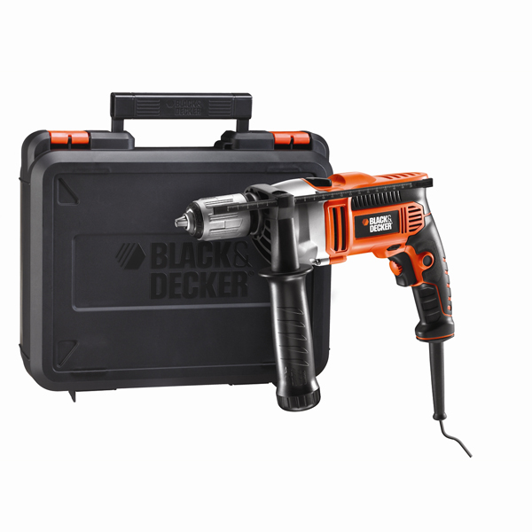 Black+Decker KR705K - дрель ударная (Orange/Black)