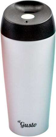 El Gusto Grano 0.47 л (110W) - термокружка (White) термокружка el gusto grano 470ml peach 110p