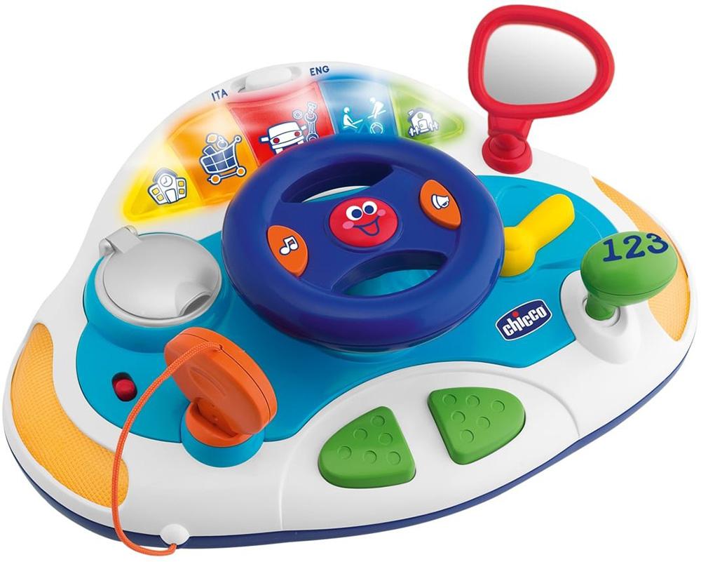 Chicco Говорящий руль (10CO1412) - обучающая играМузыкальные игрушки, мобили<br>Обучающая игра<br>