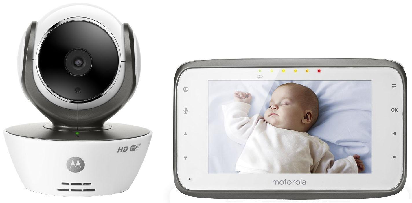 Видеоняня Motorola MBP 854 Сonnect Wi-Fi (White)Видеоняни<br>Видеоняня<br>