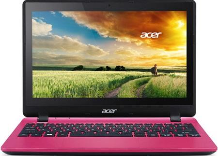 Ноутбук Acer Aspire V3-112P-C696 11.6'', Intel Celeron N2840 2.16GHz, 4Gb, 500Gb HDD (Pink)