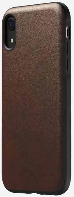 Чехол Nomad Rugged Leather Case V2 (NM21QR0000) для iPhone XR (Brown)
