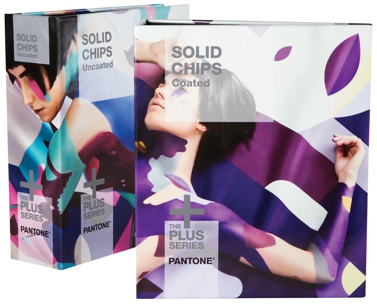 Pantone Solid Chips Coated & Uncoated (GP1606N) - набор цветовых справочников  - купить
