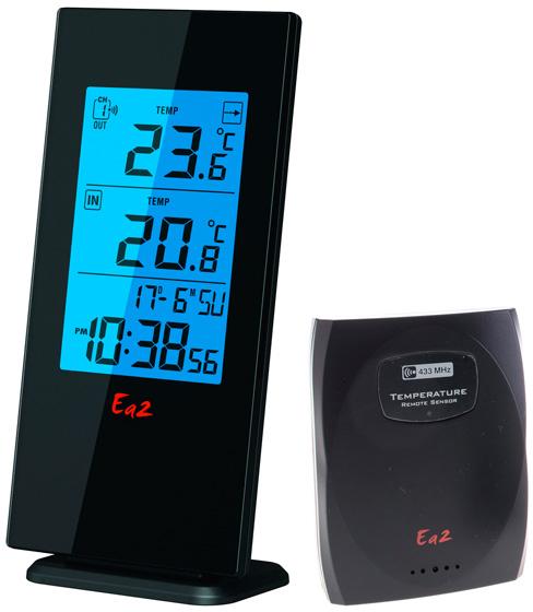 Ea2 BL508 - погодная станция (Black)Приборы для комфорта<br>Погодная станция<br>