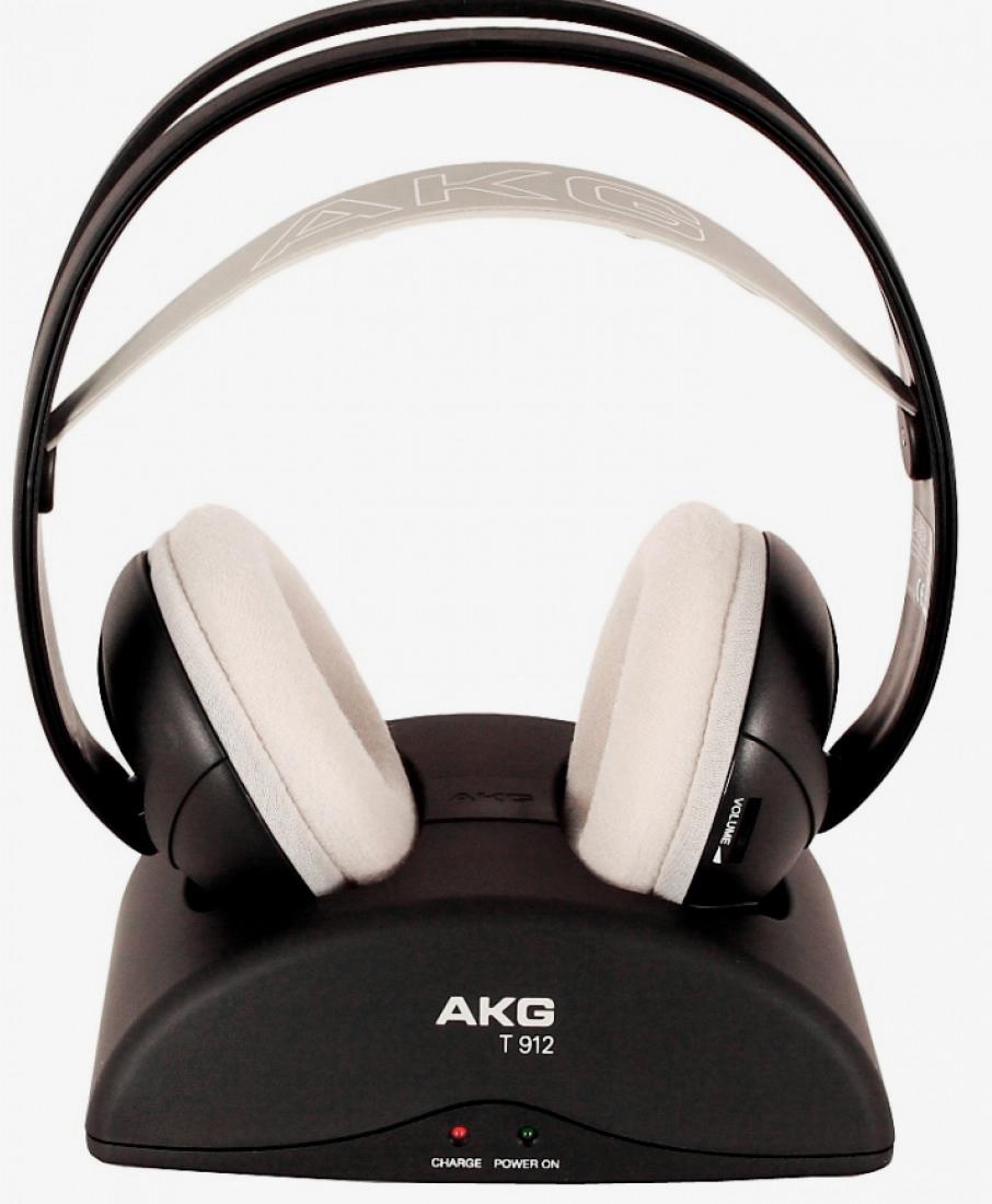 AKG K 912 - беспроводные мониторные наушники (Black)