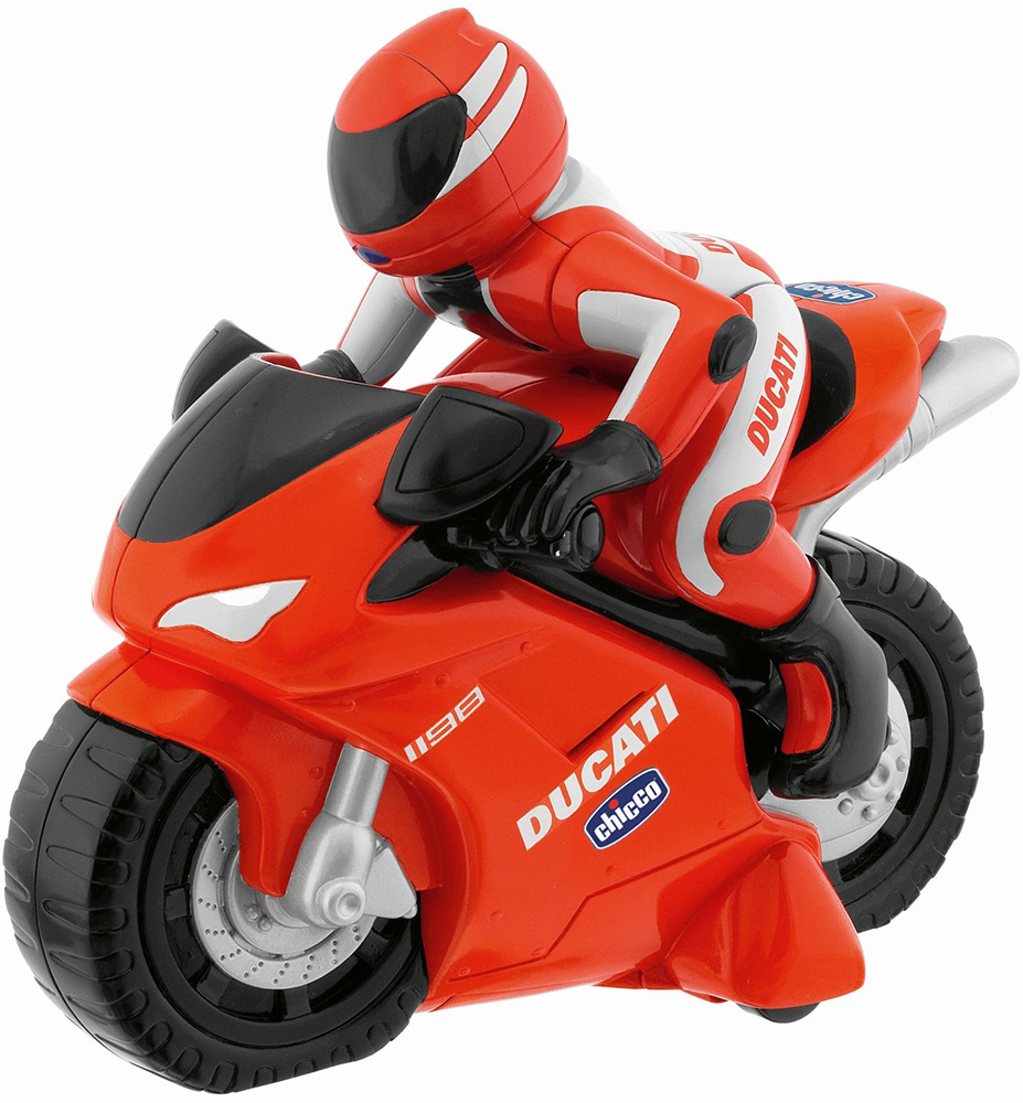 Chicco Ducati 1198 r/c (10CO1420) - мотоцикл на радиоуправлении (Red)