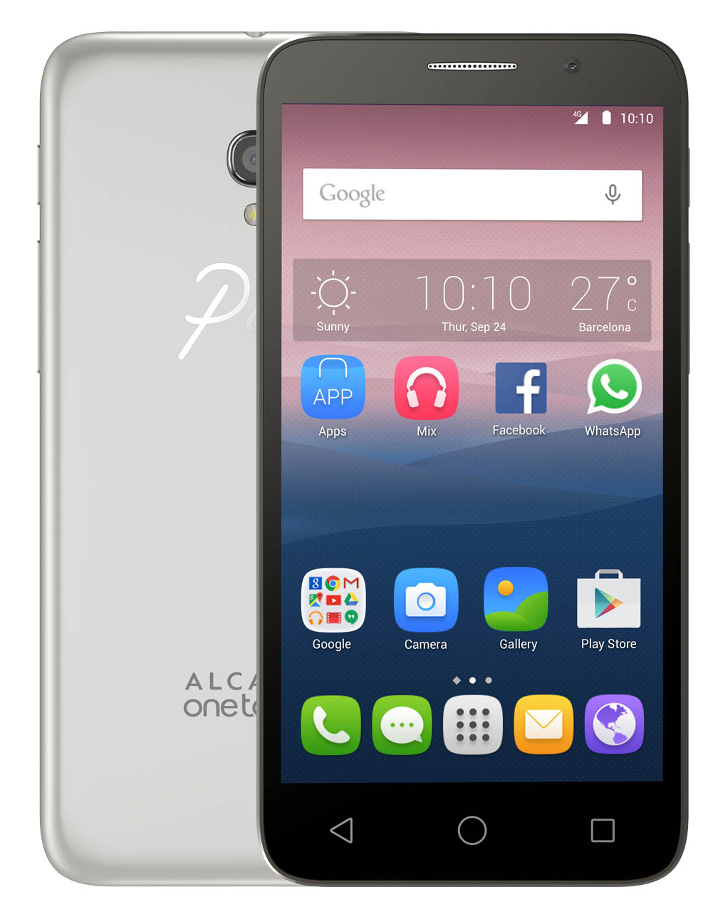 Alcatel OneTouch POP 3 5065D (Black/White)