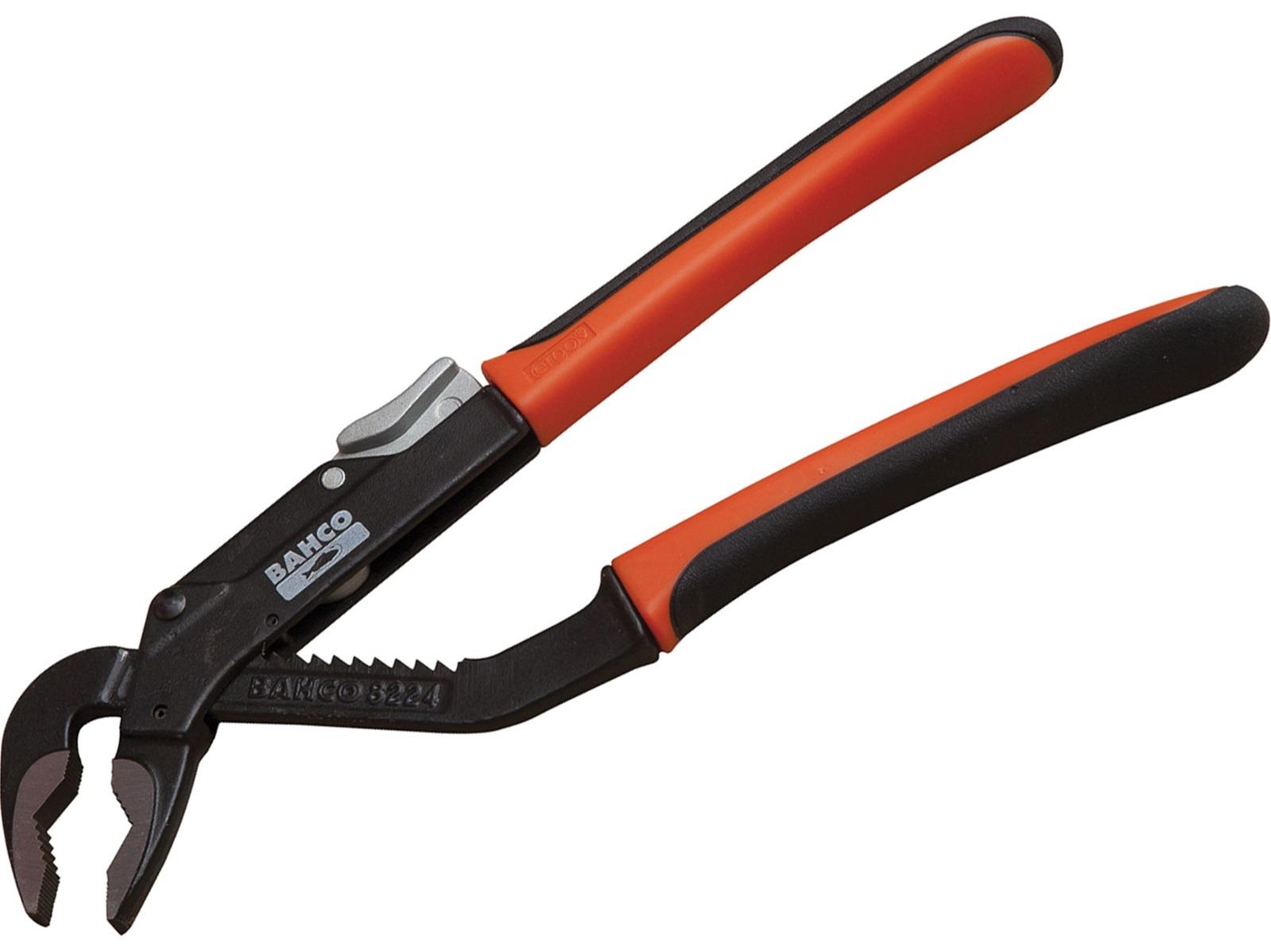Bahco 8226 400 мм - переставные клещи (Orange/Black)