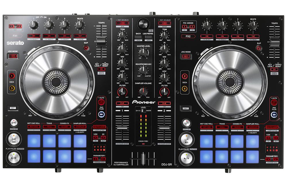 Pioneer DDJ-SR - DJ-контроллер (Black)