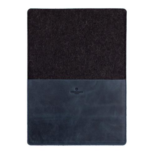 Stoneguard 541 - кожаный чехол для MacBook Pro 13 2016 (Ocean/Coal)