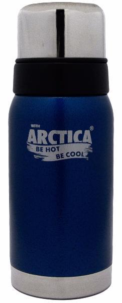 Арктика 0,5 л (106-500) - термос с узким горлом американский дизайн (Синий)