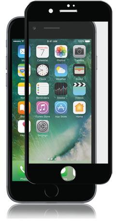 Onext 41218 - защитное стекло с рамкой для iPhone 7 Plus (Black)