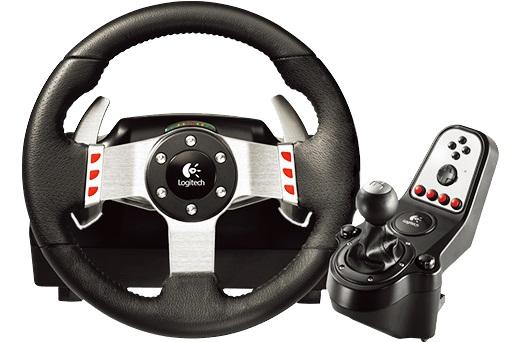 Logitech G27 Racing Wheel (941-000092) - проводной руль с педалями