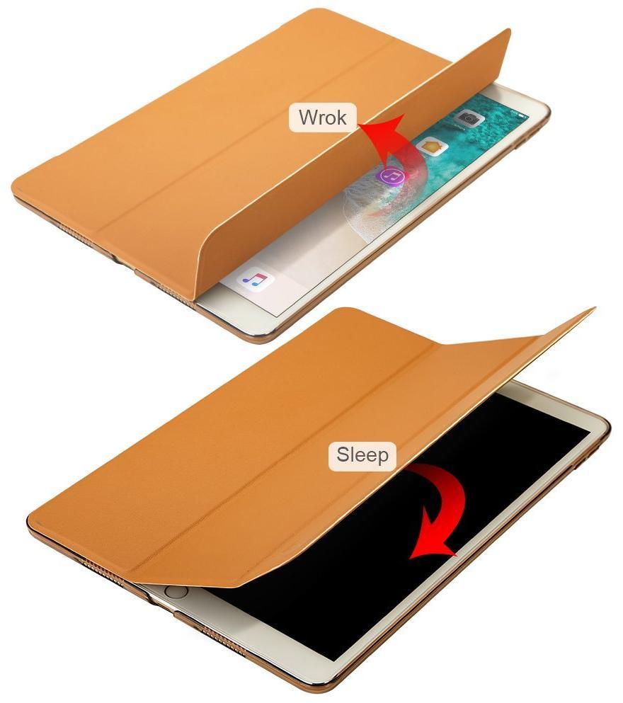 Чехол Jisoncase Magnetic Smart Cover (JS-PRO-14N20) для iPad Pro 10.5 (Brown)