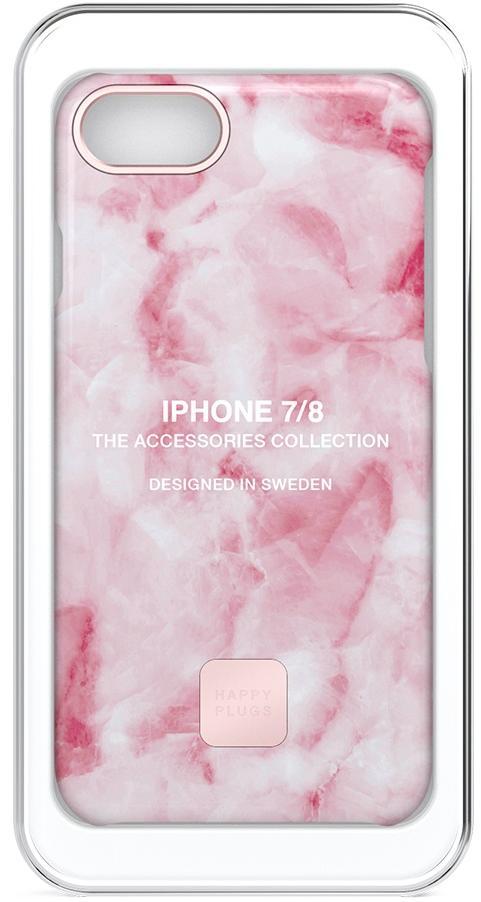 Чехол Happy Plugs Slim Case для iPhone 7/8 (Pink Marble)
