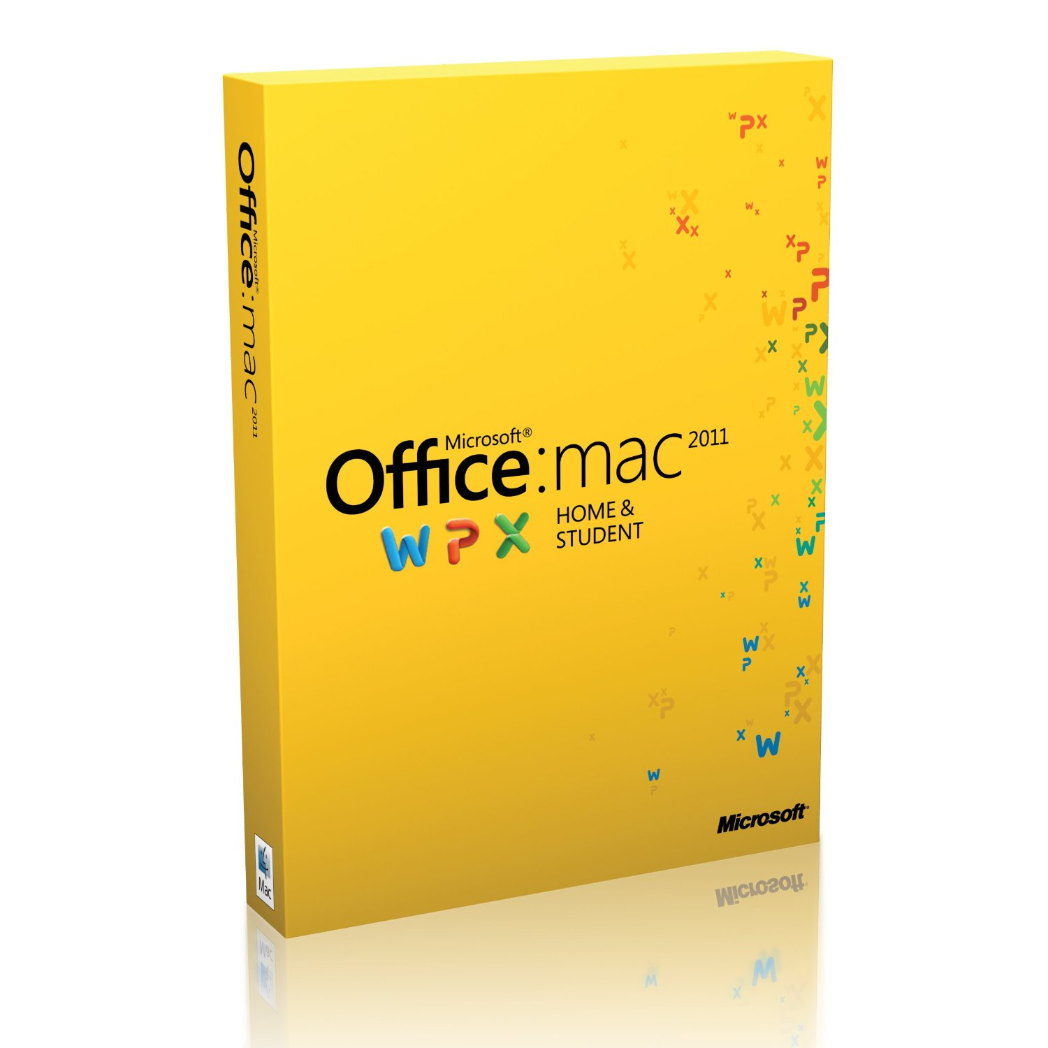 Microsoft Office for Mac для дома и учебы 2011 GZA-00317