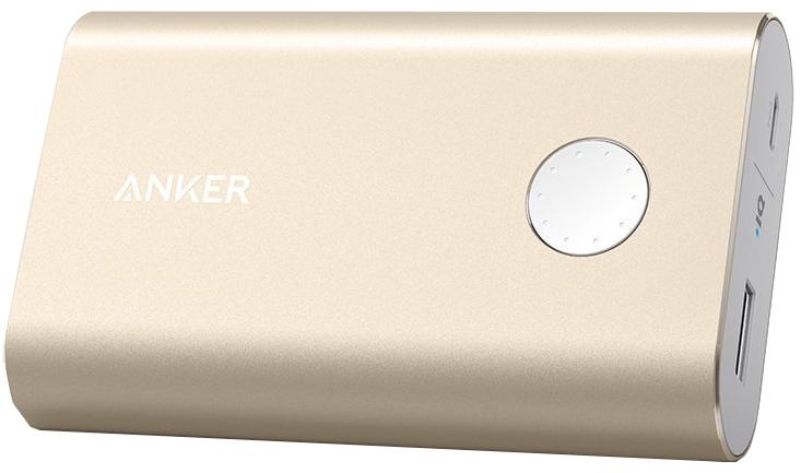 Anker PowerCore+ 10050mAh (A13100B1) - внешний аккумулятор (Gold)