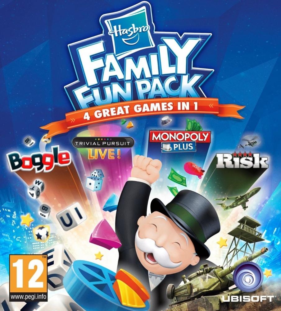 Hasbro Family Fun Pack