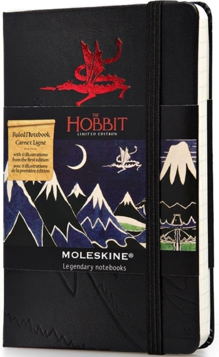 Hobbit-2Блокноты Moleskine<br>Блокнот в линейку<br>