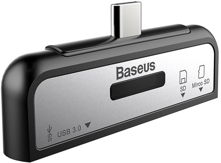 Baseus ACTQY-01 - USB-C картридер (Black)