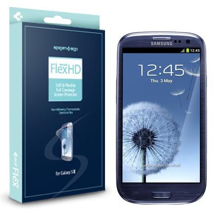 SGP Steinheil Flex HD Screen Protector (SGP09154) - защитная пленка для Samsung Galaxy S3
